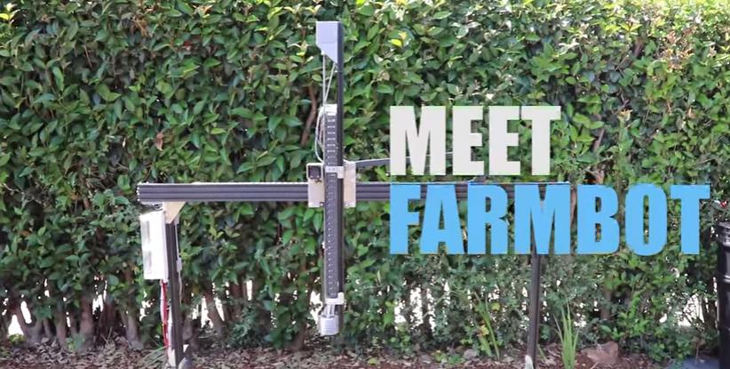 Meet FarmBot: An Open Source CNC Farming Machine (Video)
